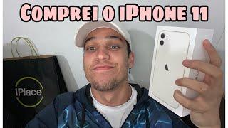 COMPREI O IPHONE 11