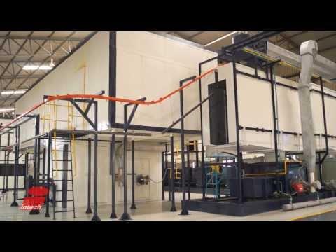 Powder Coating Plant Video Shooting - Vijay Engineering