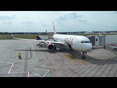 Air Canada Rouge 767-300ER Full Flight: Budapest - Toronto 2019.09.06.