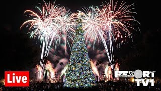 🔴Live: Epcot Candlelight Processional & Holiday Illuminations Live Stream - 11-23-18