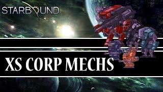 [Starbound Mods] - XS Corporation Mechs