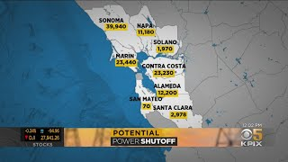 Bay Area Residents Prepare For Next PG&E Safety Power Shutoff