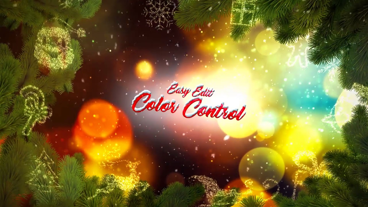 Christmas Greetings Slideshow After Effects Template From