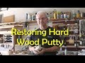 Softening Hard, Dry Wood Putty in Minutes