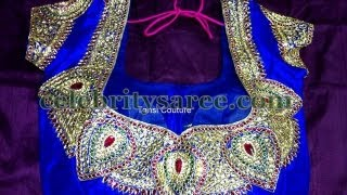 Latest Saree Blouse Designs 2013