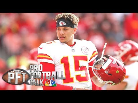 How Patrick Mahomes separates himself from other QBs I  Pro Football Talk I NBC Sports