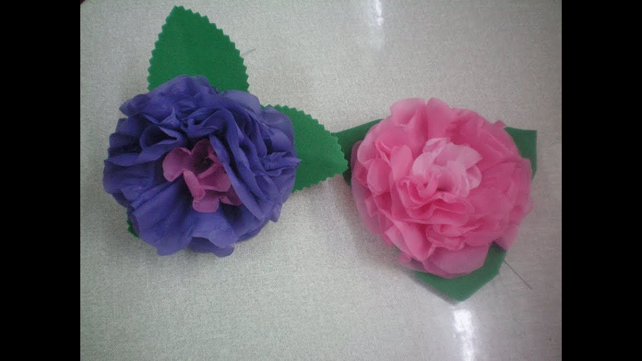 Flor de pl stico lisolene passo a passo youtube - Flores de plastico ...