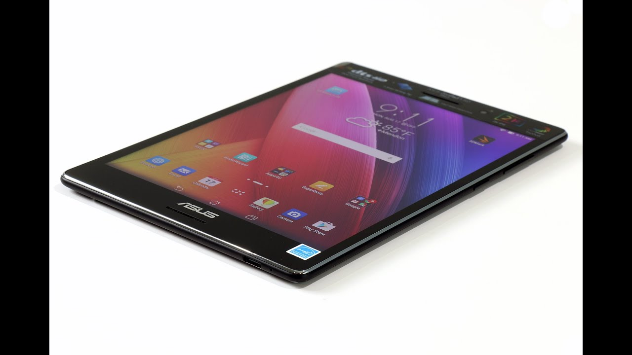ASUS ZenPad S 8.0 Z580CA Android Tablet Review - HotHardware - YouTube