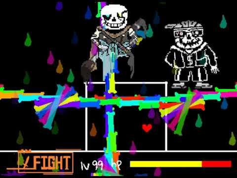[Scratch] Ink Help Ink?Sans Battle! [undertale Fangame]