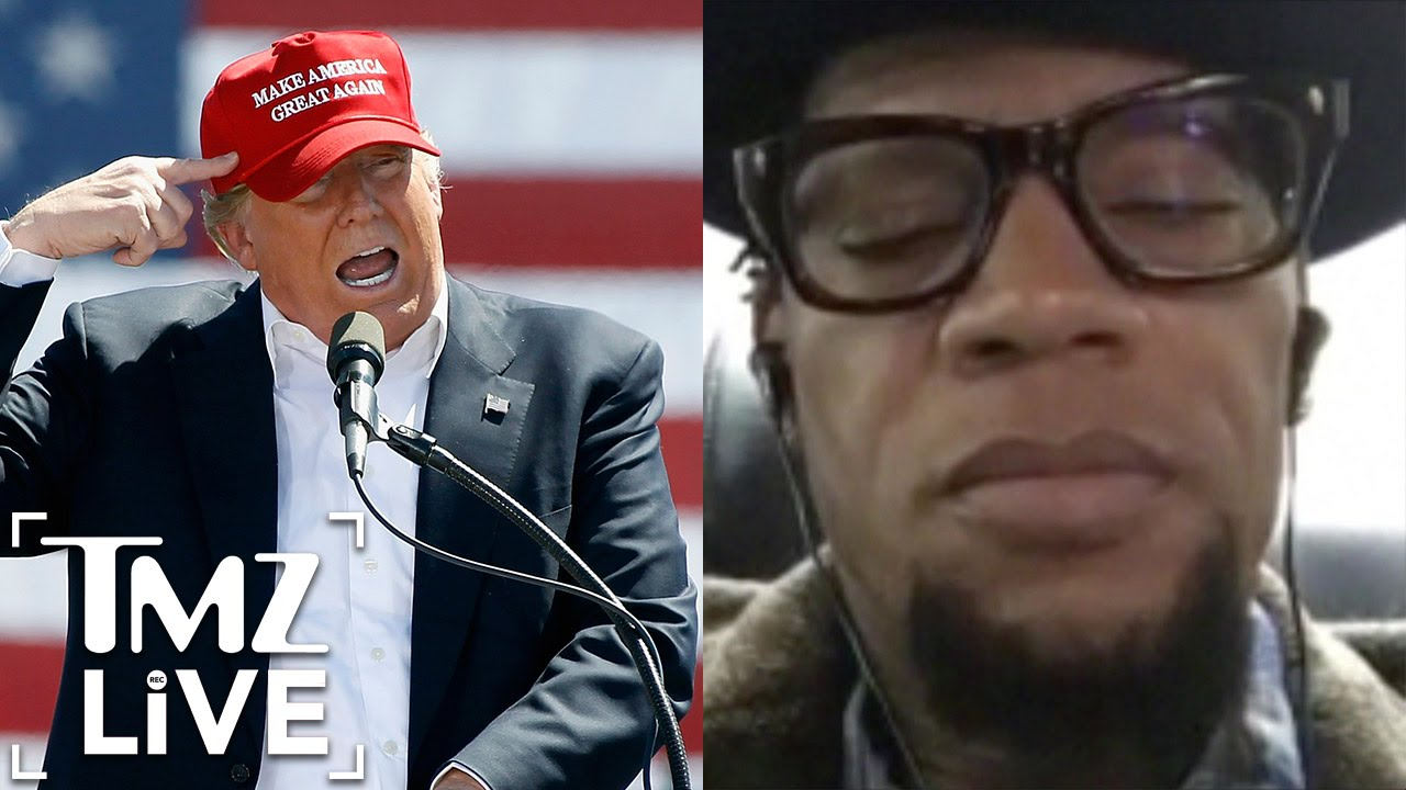 KILLER MIKE and D.L. Hughley React to PRESIDENT TRUMP (TMZ Live)