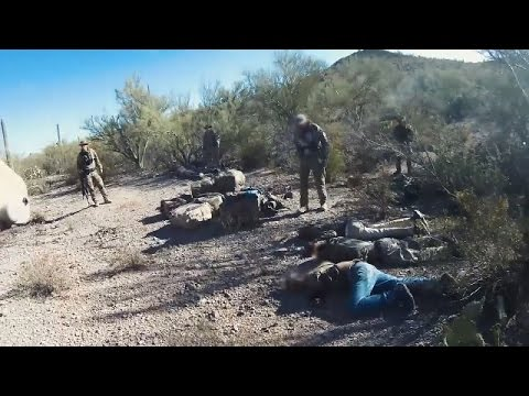 Over 429 pounds of marijuana seized after 9 smugglers captured near Tucson