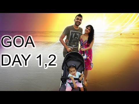 GOA - Part 1   Friends, Food, Beaches   A Day In My Life   ShrutiArjunAnand