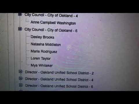 Oakland City Council District Six Race 2018: Four Candidates vs Desley Brooks Now