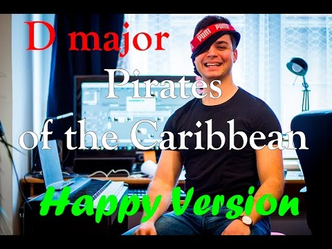 Happy Version of Pirates of the Caribbean in D Major (Parody)
