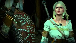 That moment when Geralt and Ciri play Rock Paper Scissors in The Witcher 3  Wild Hunt