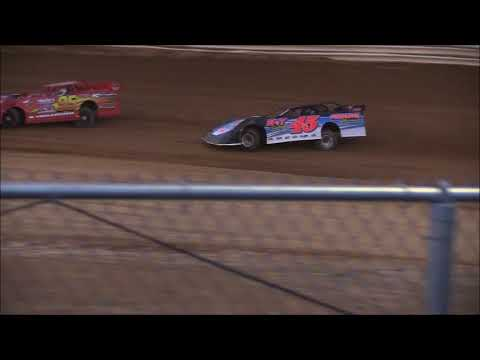 Steel Block Late Model Heat #1 from Jackson County Speedway, May 11th, 2018.