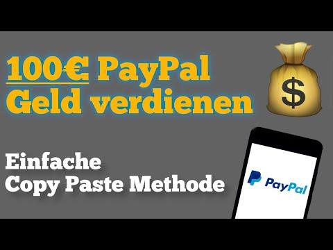 100€ PayPal Geld verdienen mit geheimer Copy Paste Methode 🤑
