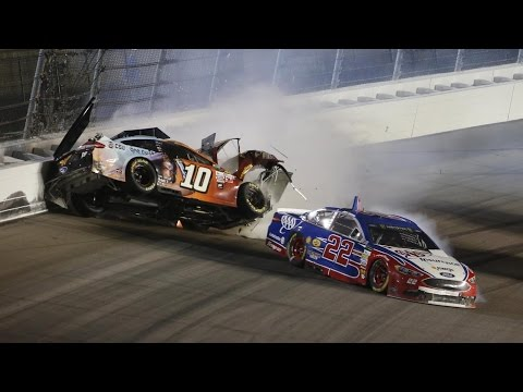 ‪Danica Patrick's Hardest NASCAR Hits Throughout the Years