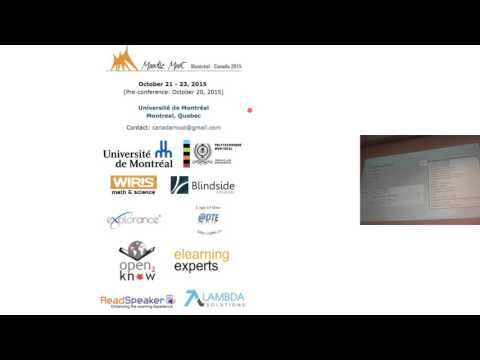 Assessment with Moodle Forum (Canada Moodle Moot 2015)
