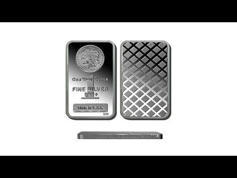1oz .999 Silver Bar