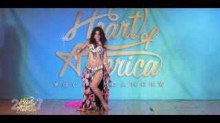 Raena of McKinney TX - Heart of America Belly Dance Festival 2017 - Pe