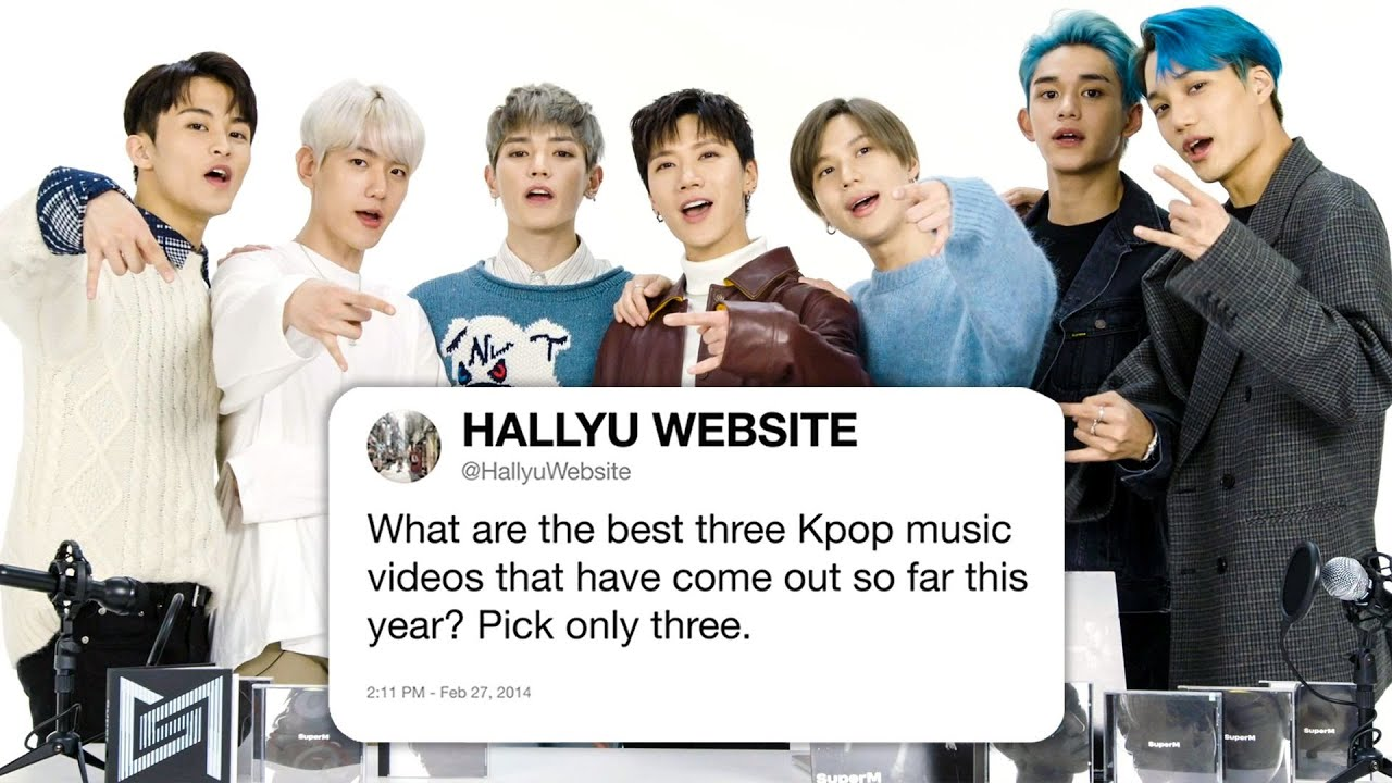 SuperM Answers K-Pop Questions From Twitter | Tech Support