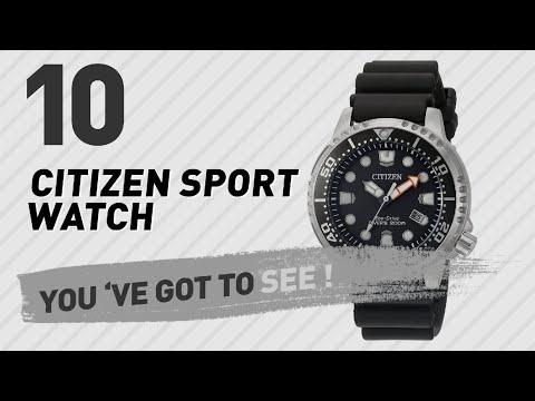 Citizen Sport Watch For Men // New & Popular 2017