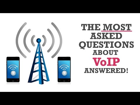The MOST asked questions about VoIP answered!