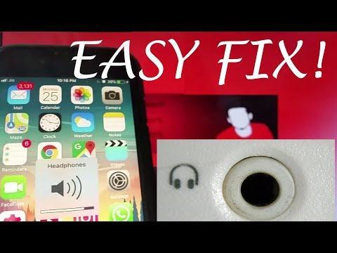 IPhone Stuck In Headphones Mode (Fixed!)