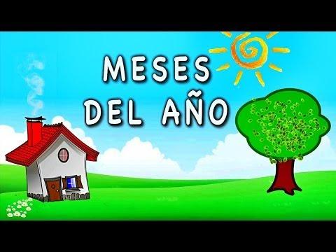 Los meses de año - Videos Educativos para Niños ♫ Divertido para aprender #