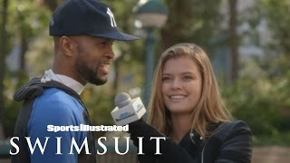 NFL Trivia With Nina Agdal | Sports Illustrated Swimsuit