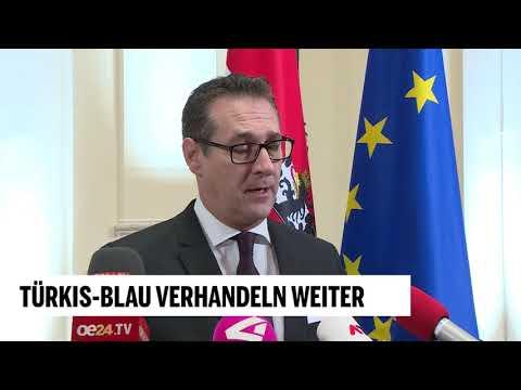 ÖVP und FPÖ verhandeln weiter: Statement von Strache