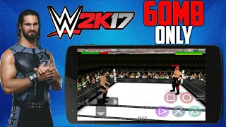 (60MB) WWE 2K17 NEW MOD ON WRESTLING REVOLUTION 3D ON ANDROID Commentary+New Rosters+New superstar