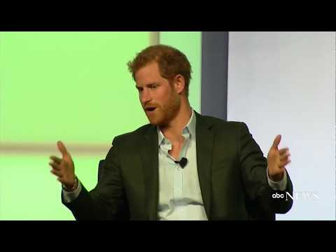Prince Harry speaks at Obama Foundation Summit in Chicago