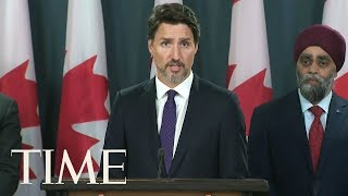 Trudeau: Evidence Shows Iran Missile Downed Plane | TIME