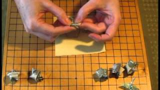 Money Origami Star Folding Instructions