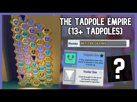 The Tadpole Empire Begins! | Bee Swarm Simulator (#4) |