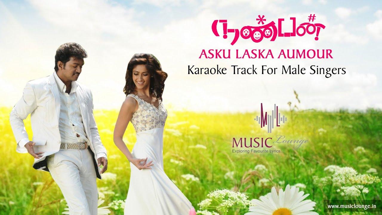 Asku laska ~ nanban / tamil karaoke lyrics youtube.