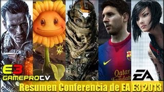 Resumen Conferencia de Electronic Arts - E3 2013