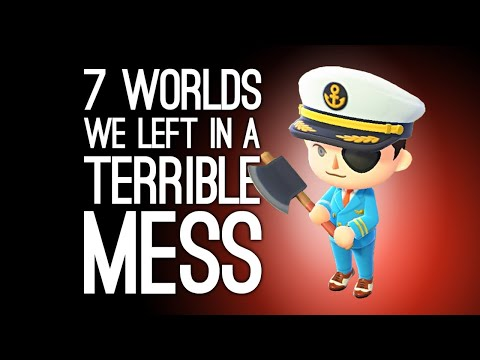 7 Game Worlds We Left in a Terrible Mess