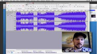 Record Singing to a Karaoke Backing Track using Audacity