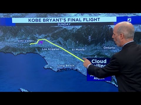 Here's how weather affected helicopter crash that killed Kobe Bryant, 8 others