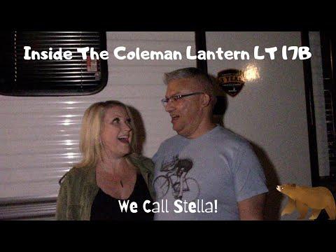 Inside Coleman Lantern LT 17B