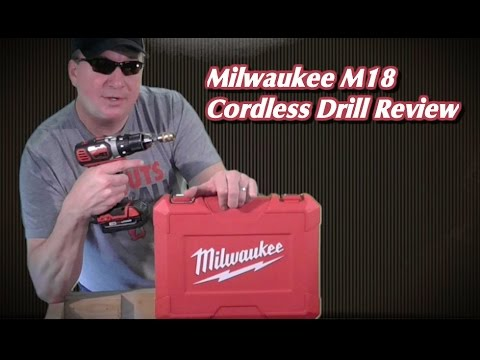 Milwaukee M18 Cordless Compact Drill Review 2606-22CT ...
