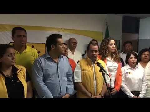 "PRD: candidatura de ""Chanito"" Toledo sigue firme"