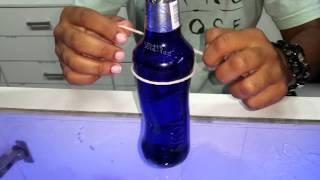 Copo com garrafa de skol beats senses