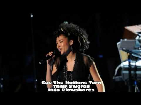 Judith Hill  Heal The World Singalong Karaoke with Lyrics