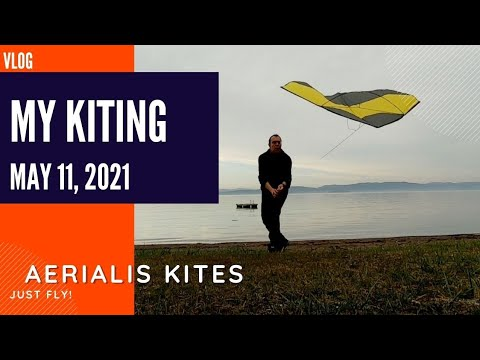 My Kiting - May 11th 2021 - Hmmm... Maybe a Glider