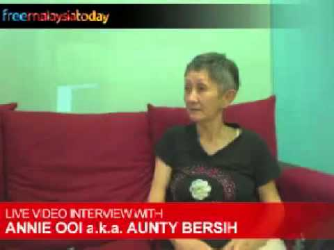 FMT RAW: Live interview with Annie Ooi a.k.a. Aunty Bersih