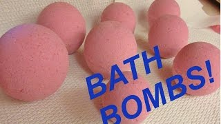 HOW TO MAKE BATH BOMBS - DETAILED INSTRUCTIONS